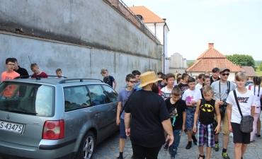 Obóz ministrancki na Mazurach (lipiec 2019)