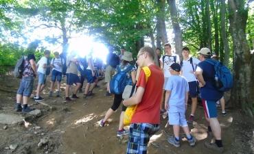 Obóz ministrancki w Bieszczadach_70