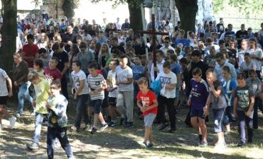 Pielgrzymka LSO na Górę św. Anny_366